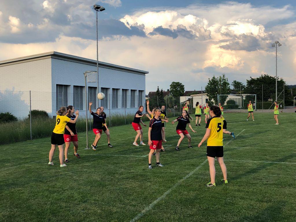 Starke erste «Saisonhälfte» in den Thurgauer Damen Korbballligen vor der Turnfestpause