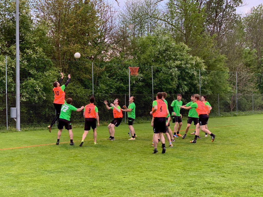 Reibungsloser Korbball Meisterschaftsverlauf «zur Halbzeit» in den Thurgauer Herren Ligen