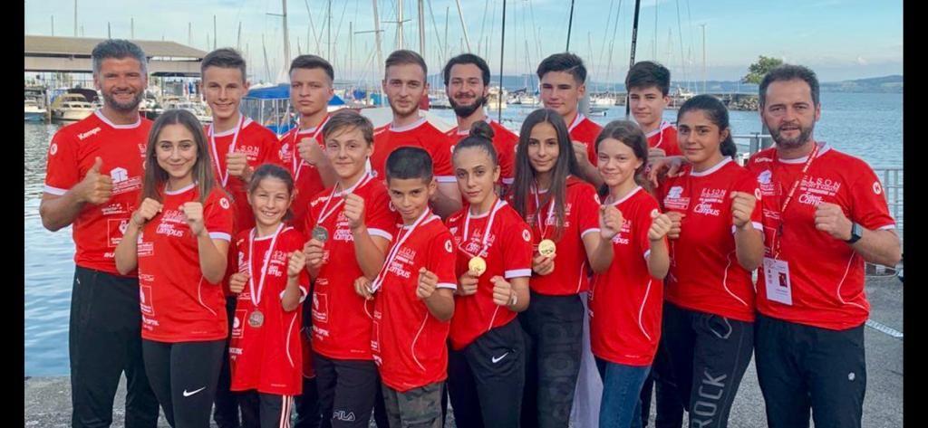 Höhenflug für das Karate Team von Elson Sport & Karate