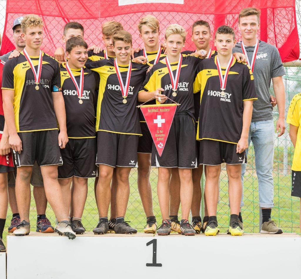 Nachwuchskorbballer der KG Neukirch-Roggwil werden Schweizermeister 2019!