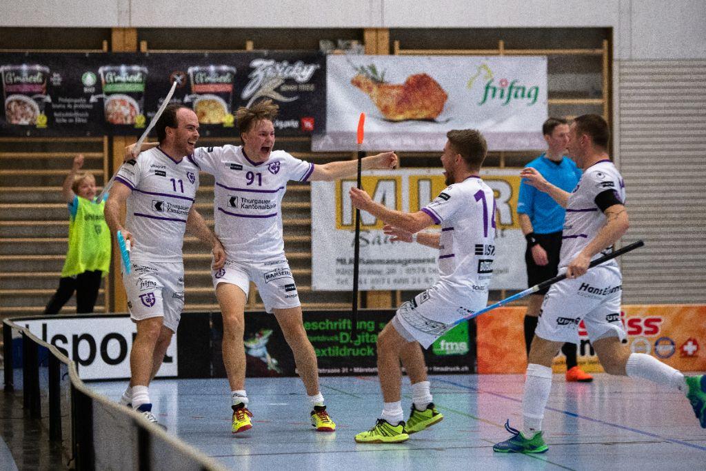 Floorball Thurgau schafft die Cup-Sensation