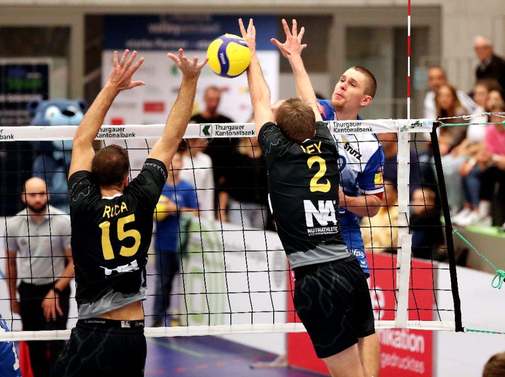 LINDAREN Volley Amriswil erstmals gefordert