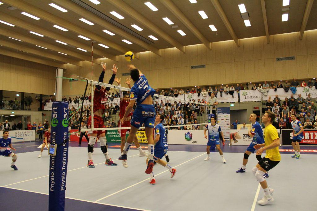 Und wieder setzt sich LINDAREN Volley Amriswil im Tie-Break durch