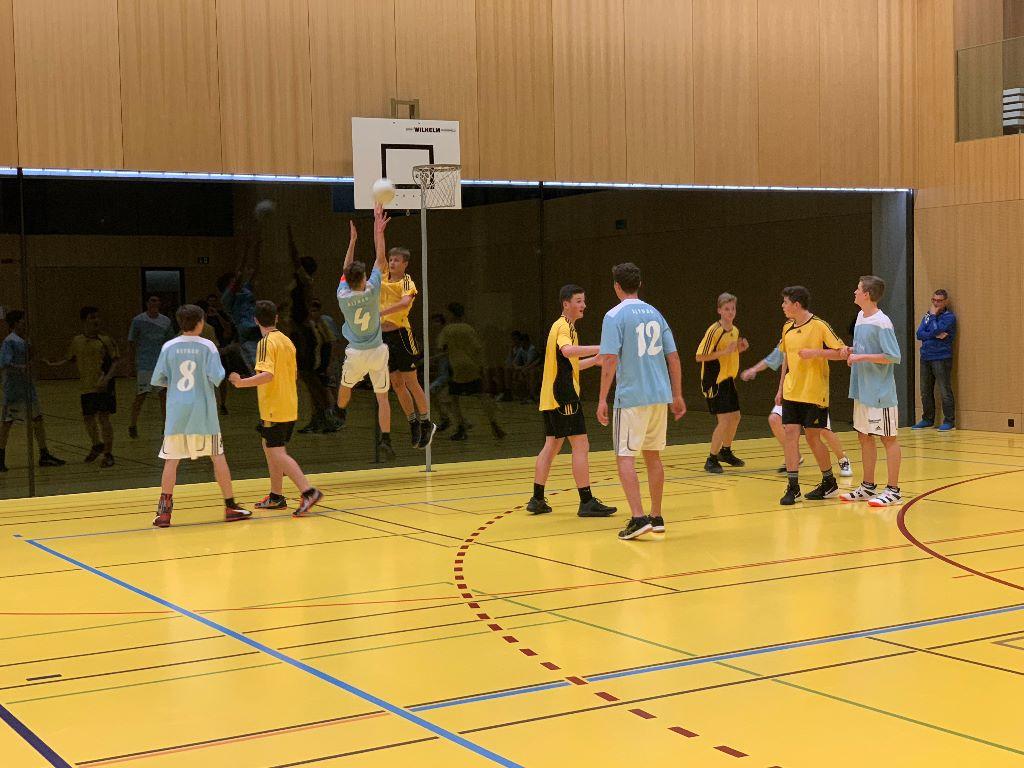 Die Korbballequipen aus Roggwil dominieren die Thurgauer U20-Regionalmeisterschaft 2019