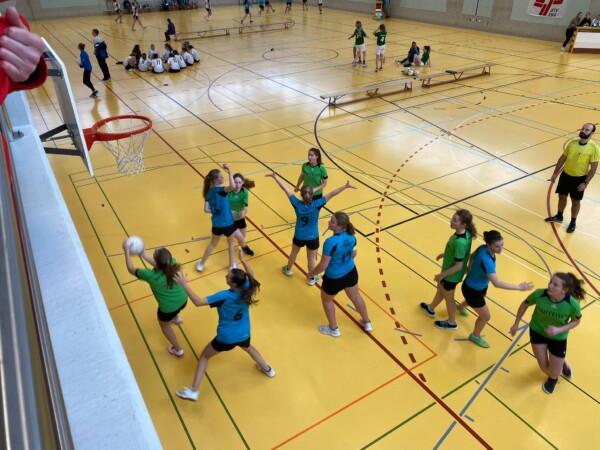 Korbballerinnen der U16-Elite schliessen mit guten Leistungen auf nationaler Ebene die Saison 2019/20 ab!