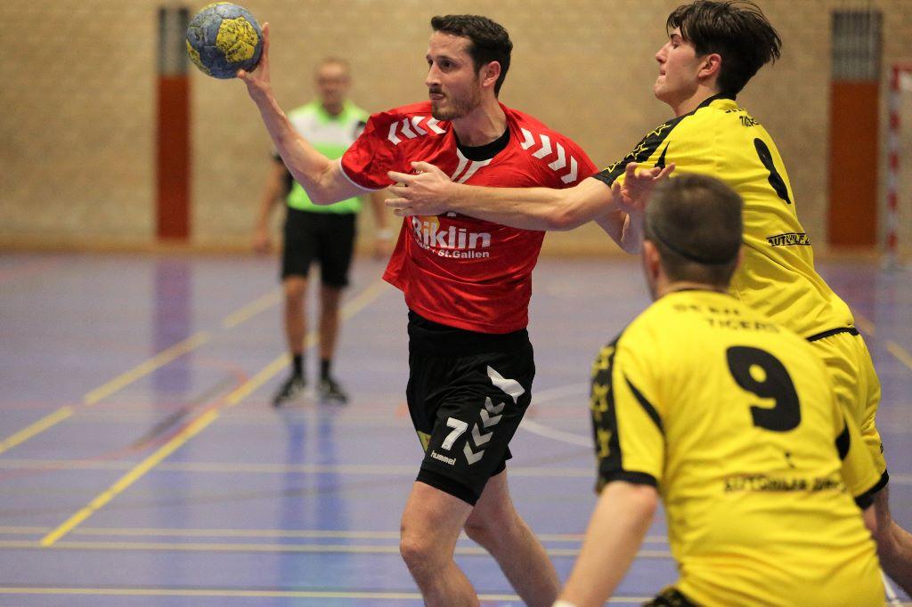 Sieg im Auswärtsspiel gegen SG Kloten Handball