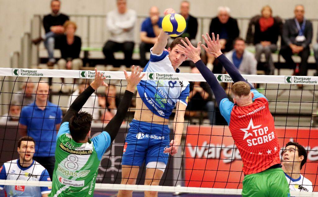 Niederlage und Sieg für LINDAREN Volley Amriswil