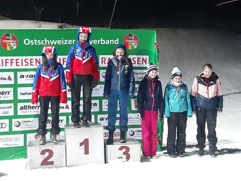 Medaillenreicher Samstag für den Skiclub Gossau