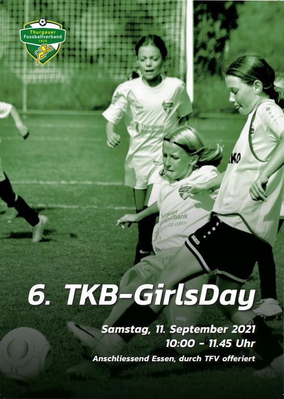 6. TKB-GirlsDay auf der Breite in Tobel am Sa. 11. September 2021 - JETZT ANMELDEN