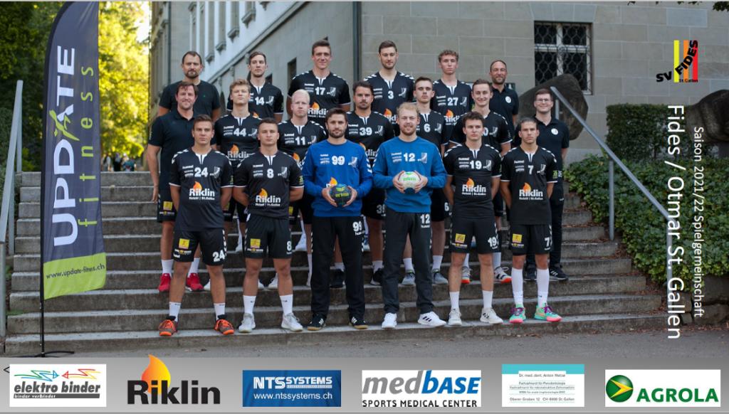 Am Samstag startet SG Fides / Otmar St. Gallen in die neue Saison mit ambitionierten Zielen!