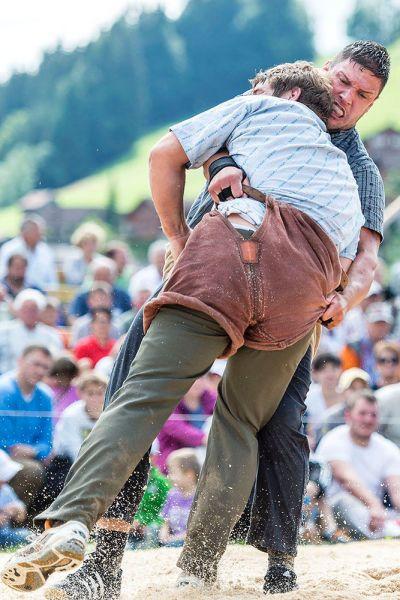 Erfolgreiche Thurgauer Schwinger in Gonten