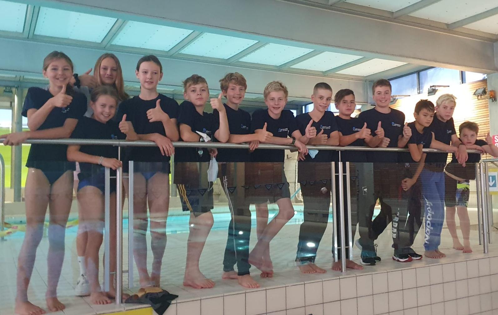 Schwimmen: Hallennachwuchswettkampf in Frauenfeld 2. Oktober 2021