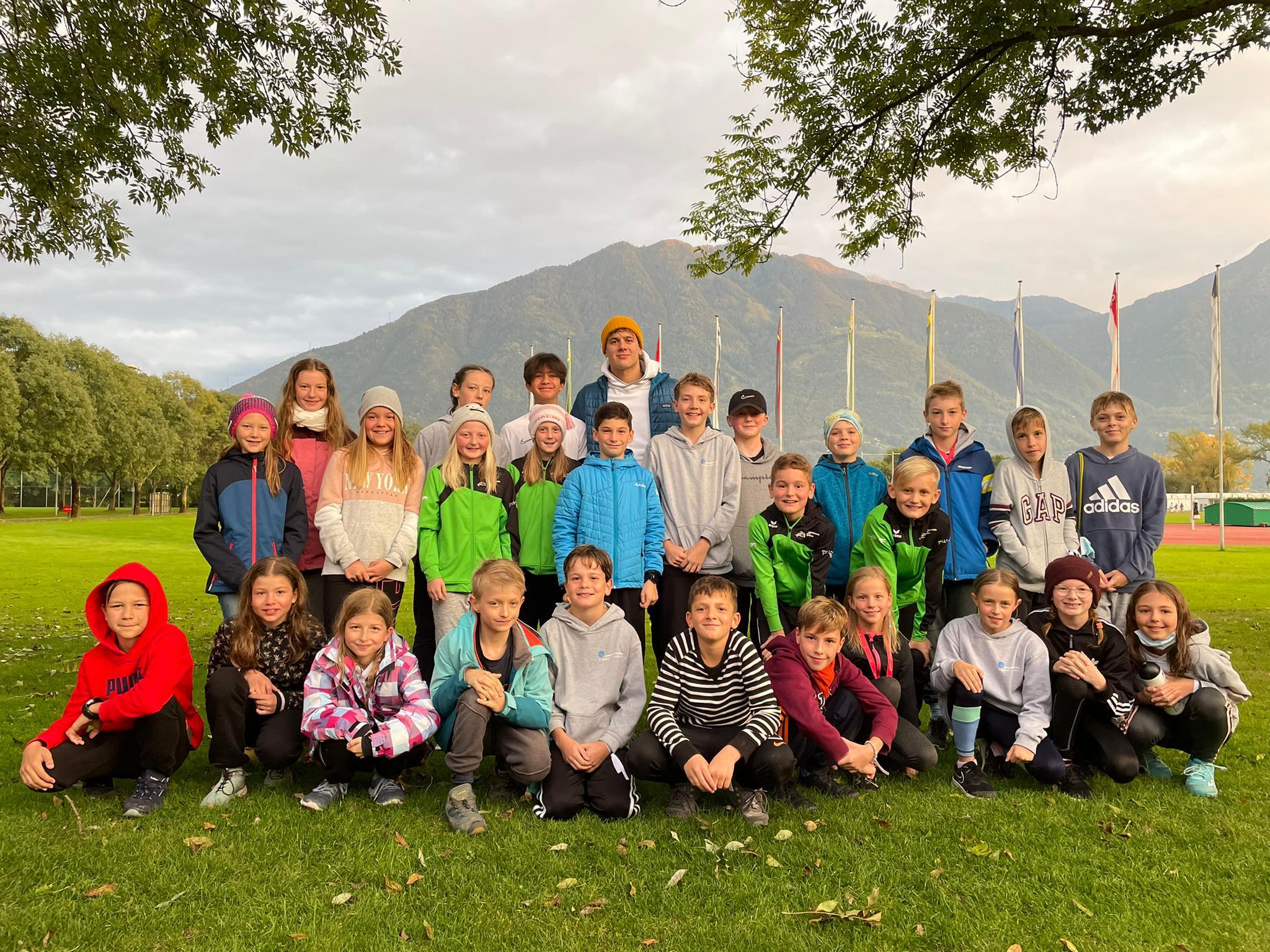 Schwimmen: Nachwuchstrainingslager in Tenero 16. bis 23. Oktober 2021