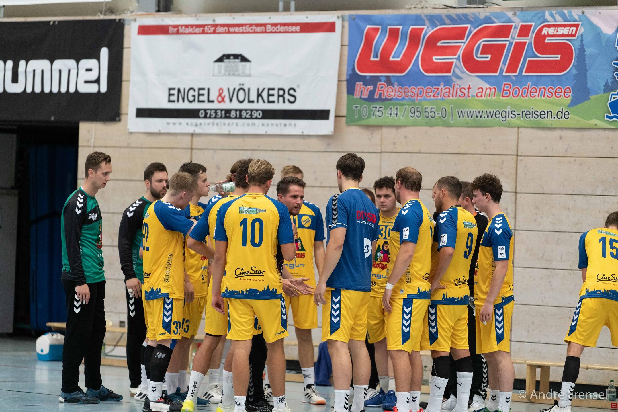 U23 der HSG Konstanz heiß auf Topspiel um Tabellenspitze gegen Stuttgart