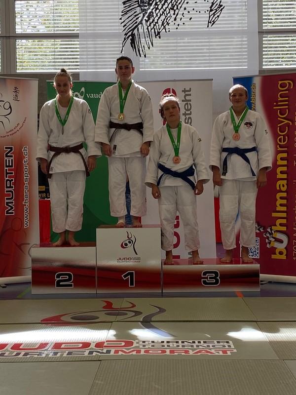 2 Goldmedaillen für Weinfelder Judokas