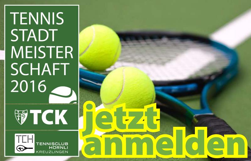 31. Kreuzlinger Tennis-Stadtmeisterschaft 2016