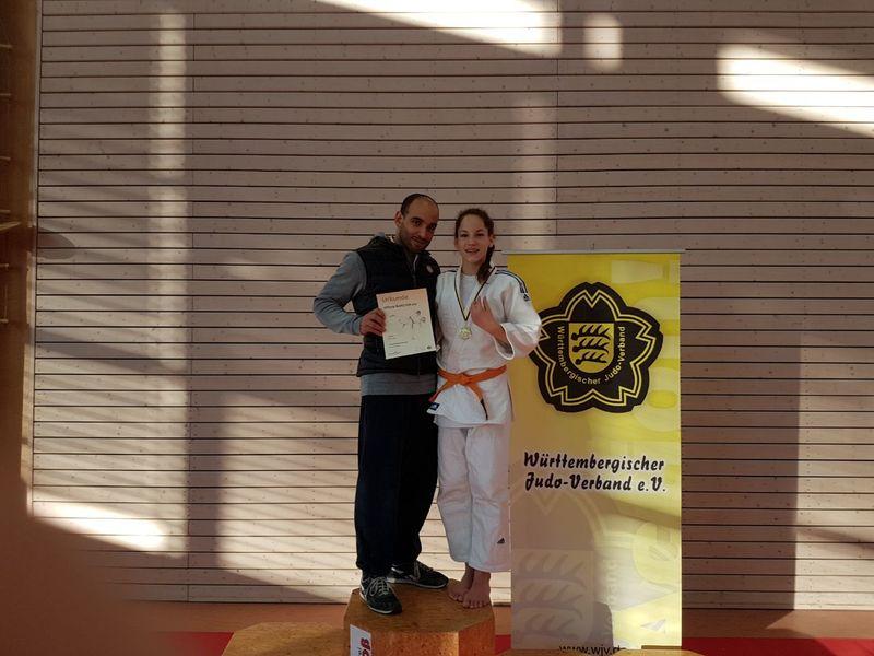 Baden-Württembergische Judo-Meisterin