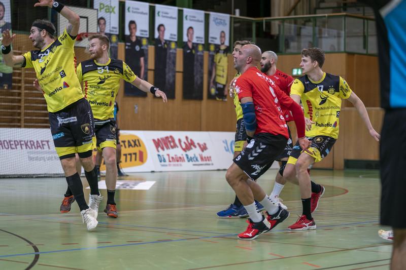 Der TSV St. Otmar verliert das erste Playoff-Viertelfinalspiel