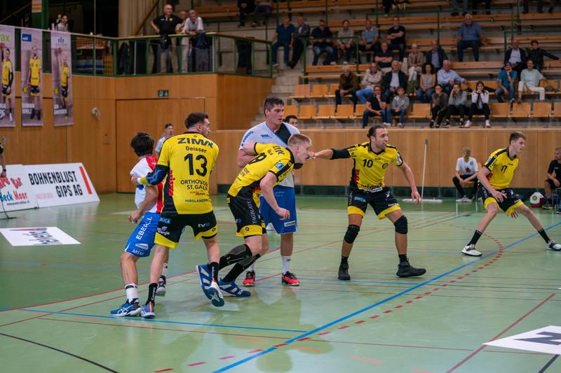 Der TSV St. Otmar verliert gegen den HSC Suhr Aarau