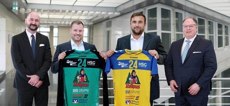 HSG Konstanz präsentiert mit der ETO GRUPPE neuen Großsponsor