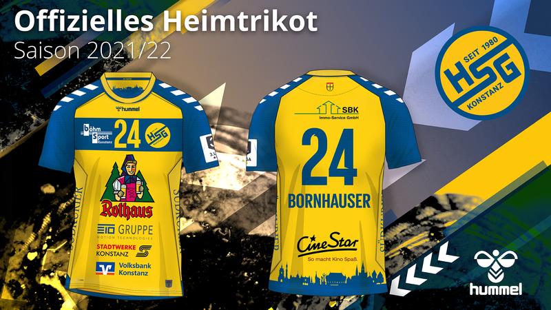 Mit Konstanzer Skyline und neuem Logo: HSG Konstanz präsentiert Trikot des neuen Ausrüsters hummel
