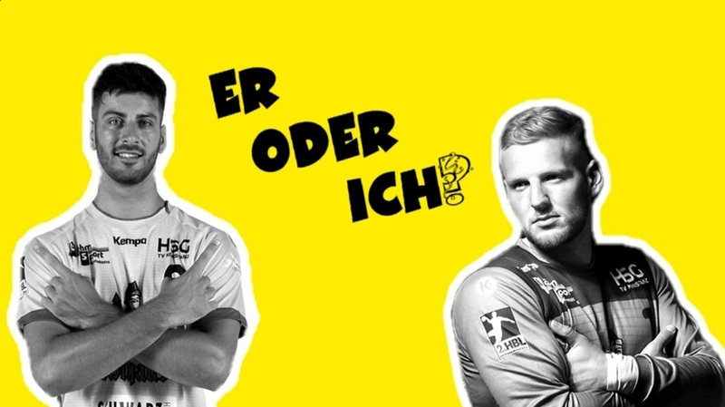 Neues Format der HSG Konstanz! Er oder ich mit Max Wolf und Matthias Hild