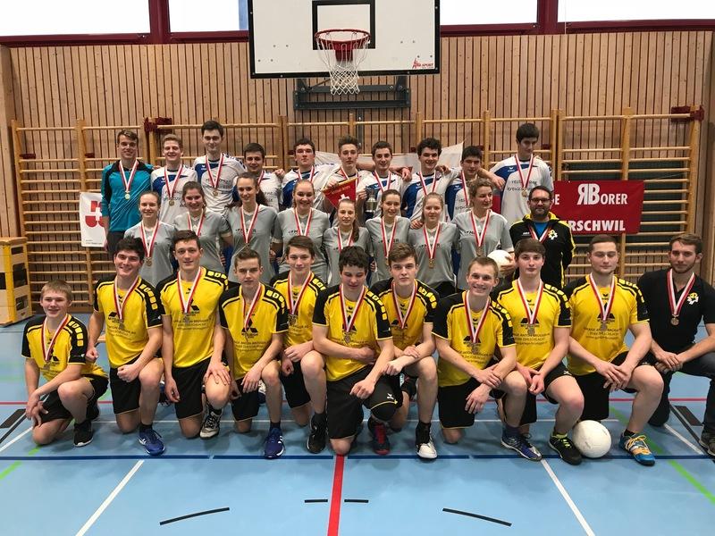 Korbball U20-Elite: Der STV Eggethof wird Korbball U20-Elite Schweizermeister 2017/18
