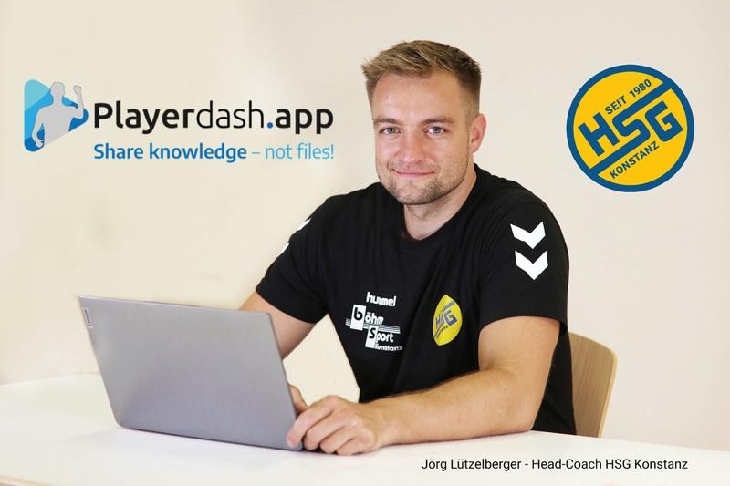 Playerdash.app wird neuer Technologiepartner der HSG Konstanz