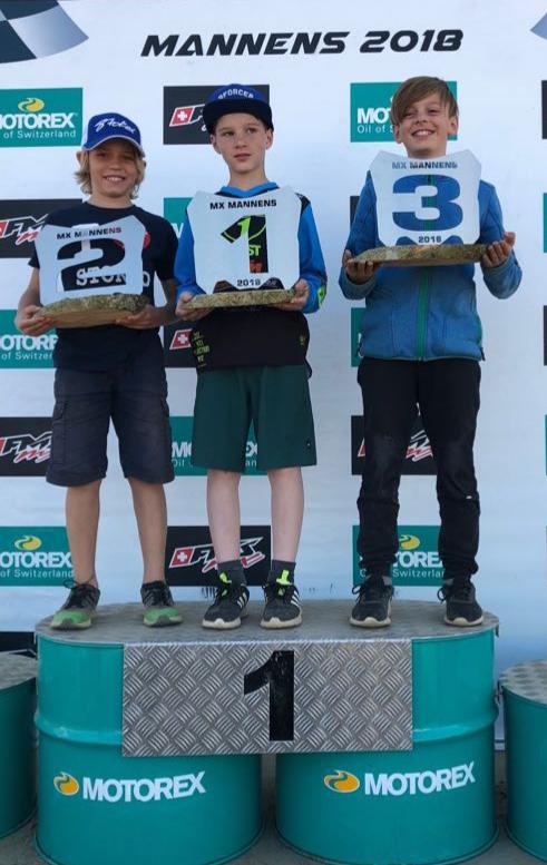 Rennbericht Jugend-Motocross Mannens