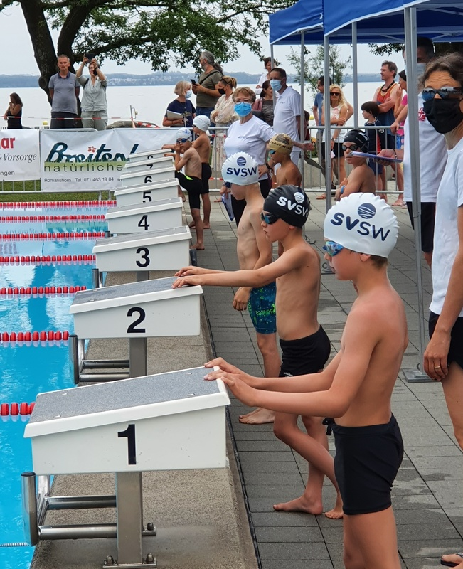Schwimmen: Ostschweizer Regional Nachwuchsmeisterschaft in Romanshorn 19. – 20. Juni 2021