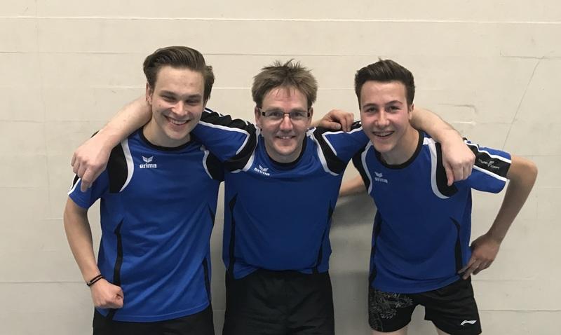 Tischtennis: Romanshorn steigt in die 2. Liga auf!