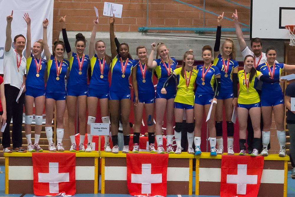Volley Köniz ist U19-Schweizermeister