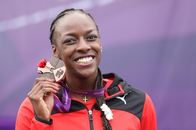 Yasmin Giger gewinnt Bronze