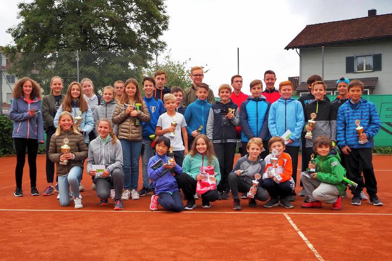 Zehn neue Thurgauer Junioren-Tennismeister in Sirnach gekürt