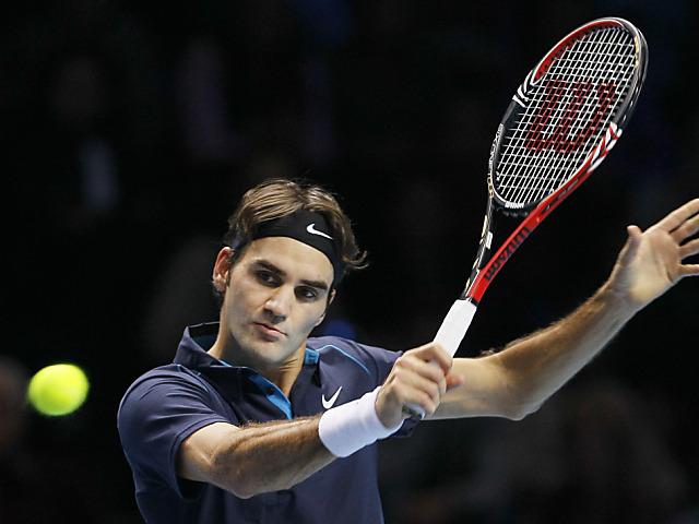 Roger Federer ist in der 1. Runde dabei