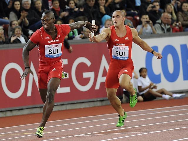 IAAF verweigert Anerkennung des Schweizer Rekords der Männerstaffel