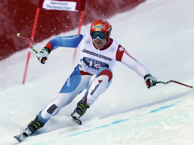 Didier Cuche scheint für Garmisch bereit