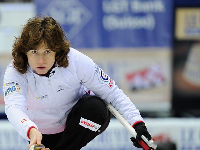 Mirjam Otts Team nach Sieg über Bern im SM-Final