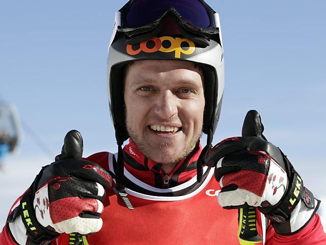 Mike Schmid beim Weltcup-Comeback Fünfter