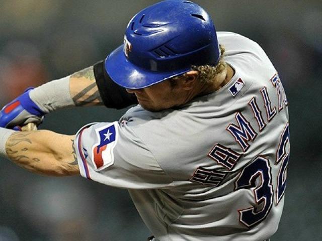 Josh Hamilton egalisiert einen Baseball-Rekord