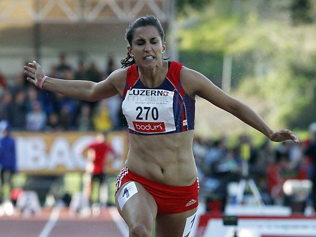 Schweizer 4x100-m-Staffel der Frauen läuft Rekord