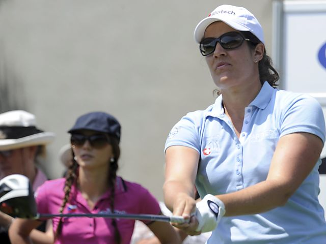 Caroline Rominger für gutes Golf schlecht belohnt