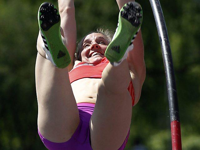 Nicole Büchler mit Schweizer Rekord