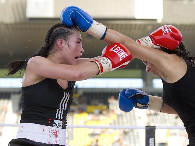 Schweizerin Seki feiert im Klitschko-Rahmenprogramm grossen Sieg