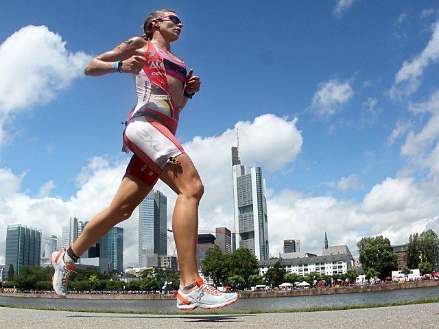 Caroline Steffen zum zweiten Mal in Folge Ironman-Europameisterin