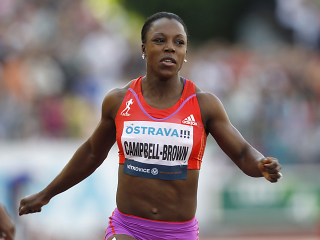 Auch Campbell-Brown in Luzern am Start