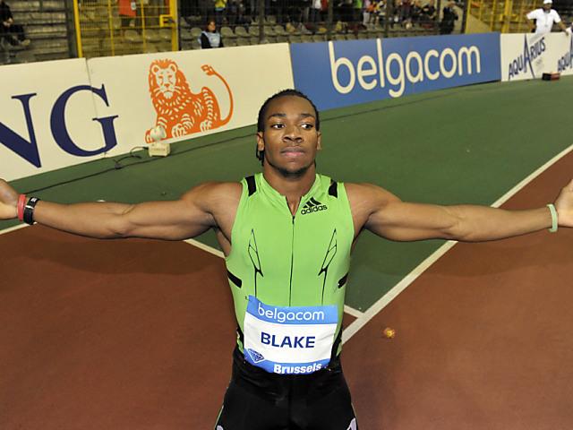 100-m-Weltmeister Blake stellt Meeting-Rekord auf