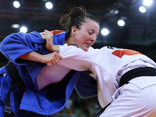 Juliane Robra nach erstem Kampf out