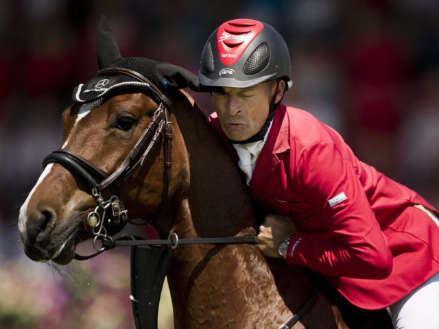 Pius Schweizer bleibt mit Glück im Rennen