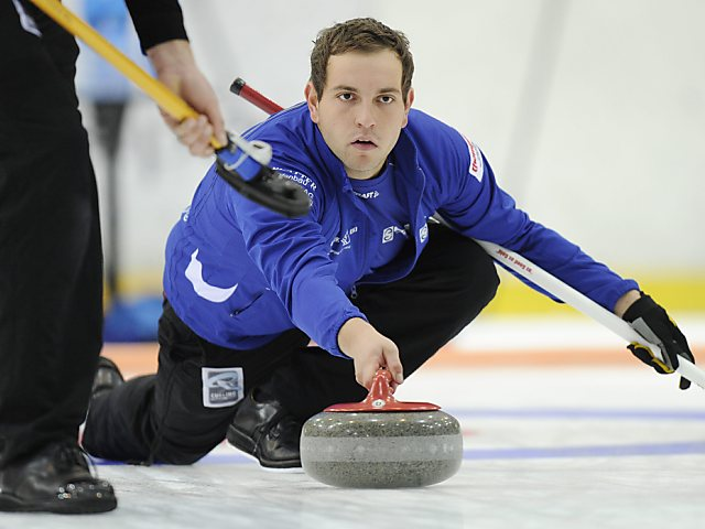 Adelbodner Curler nach sechs Siegen von Schweden gestoppt
